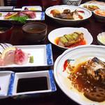 七海 - 料理写真:持田屋旅館宿泊者特典日替わり定食 1,200円