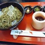 太郎茶屋 鎌倉 - 茶そば(ざる)