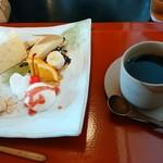 太郎茶屋 鎌倉 - デザートプレート