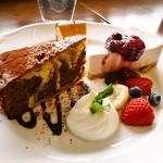 カフェ ラバーズリープ - デザート3種盛合せ