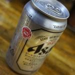 金太 - 缶ビール 350円=15年4月