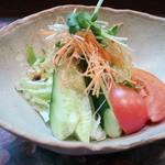 ステーキハウス キッチンリボン - サラダ