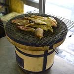 節子鮮魚店 - カンパチのお腹の部分