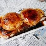 オリタ焼まんじゅう店 - 焼きまんじゅう(アン入)¥180 ※上のヤツ