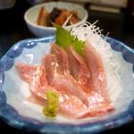 丸久 - きんめ刺身 ¥1,000
