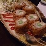 澄仙 - チーズアスパラの豚肉巻