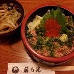 藤乃鮨 - イクラネギトロ丼 950円