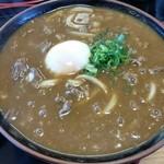 みのり - カレーうどん 温泉卵のせ 690円