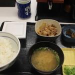 吉野家 - 朝定食小鉢付き