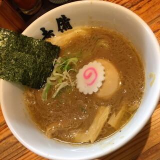 玉 赤備 - 味玉豚鶏つけめん(900円)2015年4月