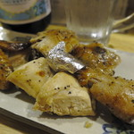 チキンとおでん葉津 - 県産若鶏ローストチキン:ハーフ
