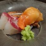 京天神 野口 - ☆お造り…金目鯛&赤貝&鯛☆