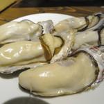 サントリー ザ・プレミアムモルツ オーシャン グリル - 牡蠣の蒸し焼き