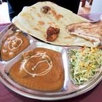 チャメリ - ランチ・チキン&ひよこ豆のカレー