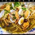 キャナリィ・ロウ - アサリとバジルの和風スープ