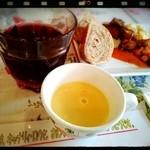 キャナリィ・ロウ - 前菜バイキング、ドリンクバー、スープつき♪