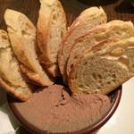 セルベセリア・グランビア - 鶏レバーのパテ