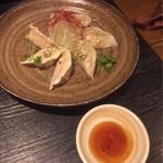 餃子屋本舗 - 水餃子《柚子七味たれ》