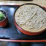 吉村屋 - 料理写真:2015年03月18日(水) もりそば 950円