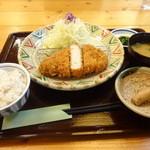 とんかつ処倉敷浜田屋 - 厚切りロースかつ定食