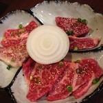 もうもう亭 - お好み定食A(カルビ・ロース・ハラミ)