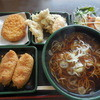 ゆで太郎 - 料理写真:レディースセット¥450-  +コロッケ