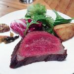 セラードア リンガ - 熟成牛のステーキ