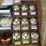 36858811 - ドリンクバー紅茶の茶葉の1部