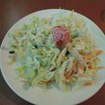エジプシャンレストラン&カフェ スフィンクス - ランチのサラダ