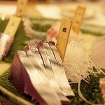 銀座 魚ばか - 最初の刺身