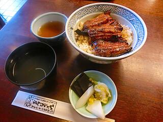 ひょうたん屋 6丁目店 - ランチ 鰻丼 1550円!