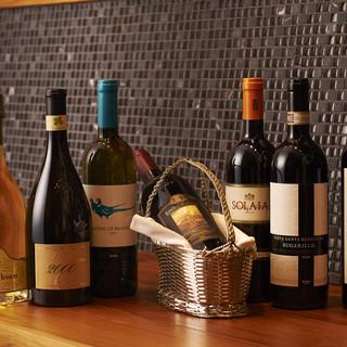 ソムリエが厳選したイタリアワイン100種以上