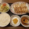 Gyouzanooushou - 料理写真:餃子セット