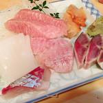 錦寿司 - 刺身盛り