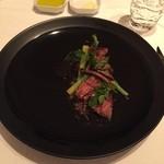 36865889 - イベリコ豚の肩のお肉プルマ  稀少な部位で、食感だけでは牛肉みたい!