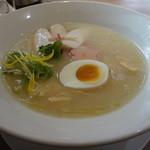 暖家 - 鳥白湯麺(塩)