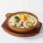 ハスネテラス - 彩り野菜の豆乳ドリア
