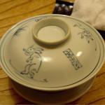 36869122 - 本日は、器が大好きな鳥獣戯画で。お皿も。