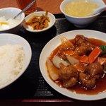 Yokohamachuukagaikeichinrou - 酢豚定食 700円