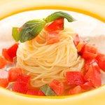 トラットリア アルテフィーチェ 銀座 - 石山農園トマトの冷製カッペリーニ