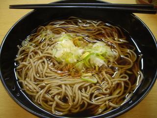 しなの ながでん長野駅横 - 2015.4.12かけそば300円