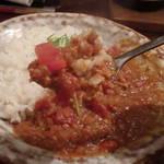 ゴリラ食堂 - ネパール産マサラのキーマカレー