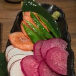 36872302 - 摘みたて野菜造り盛り