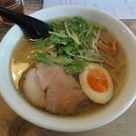 ニジイロ食堂 - 鶏麺 金醤油