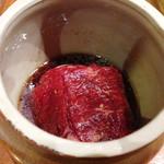 焼肉 山河 - 壺漬けカルビ