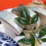すし慶 - 鯖寿司