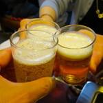 龍園 - トリビーで乾杯〜♪