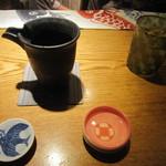 Girogirohitoshina - 日本酒を頼むと、お猪口えらべます