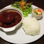 ムラン ゴッツォ カフェ - ハンバーグプレート
