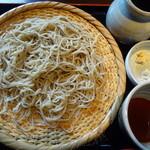 そば処 椿野 - 二八蕎麦